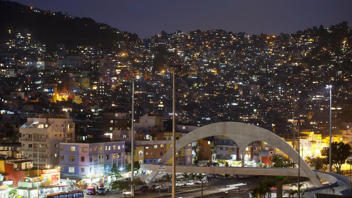 Brazilský slum Rocinha