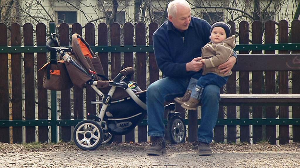 Dědeček s vnoučetem