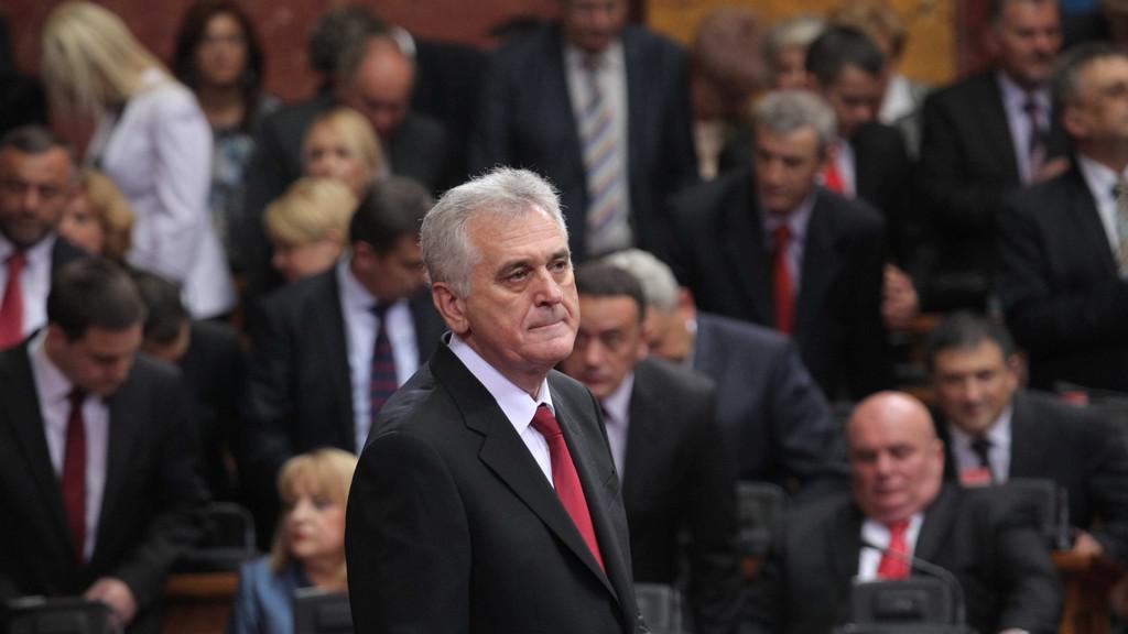 Tomislav Nikolić na inauguraci
