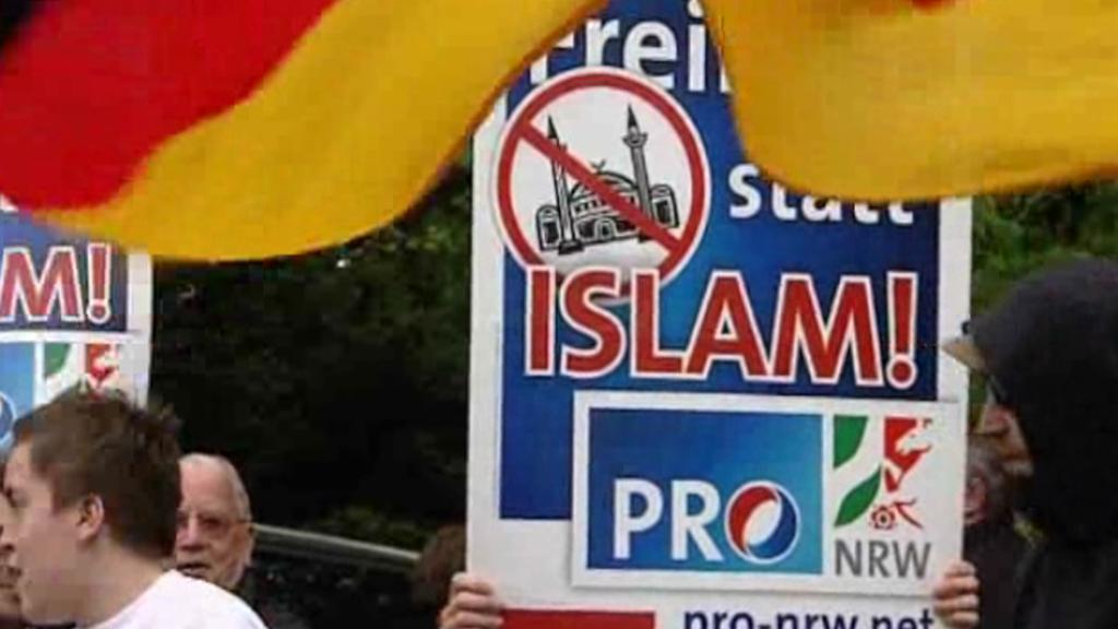 Protiislámská demonstrace