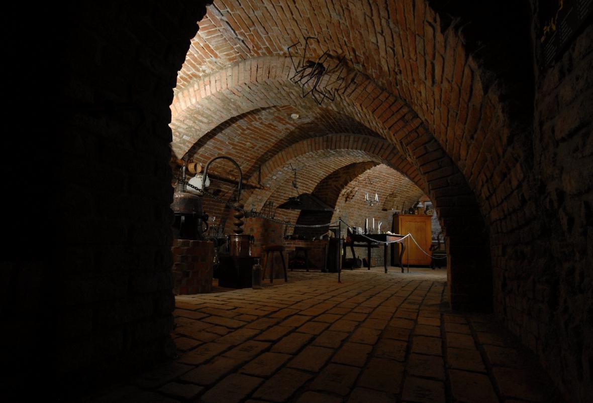 Labyrint pod Zelným trhem v Brně