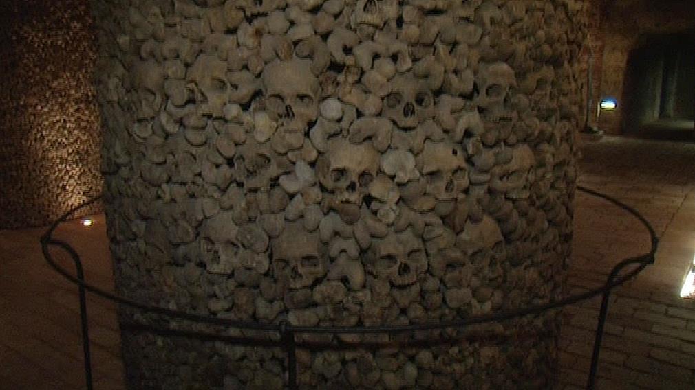 Expozice v brněnské kostnici