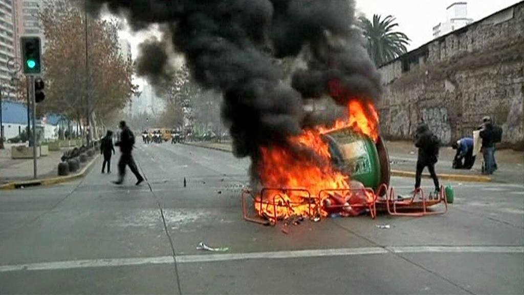 Protest Chilanů proti filmu Pinochet
