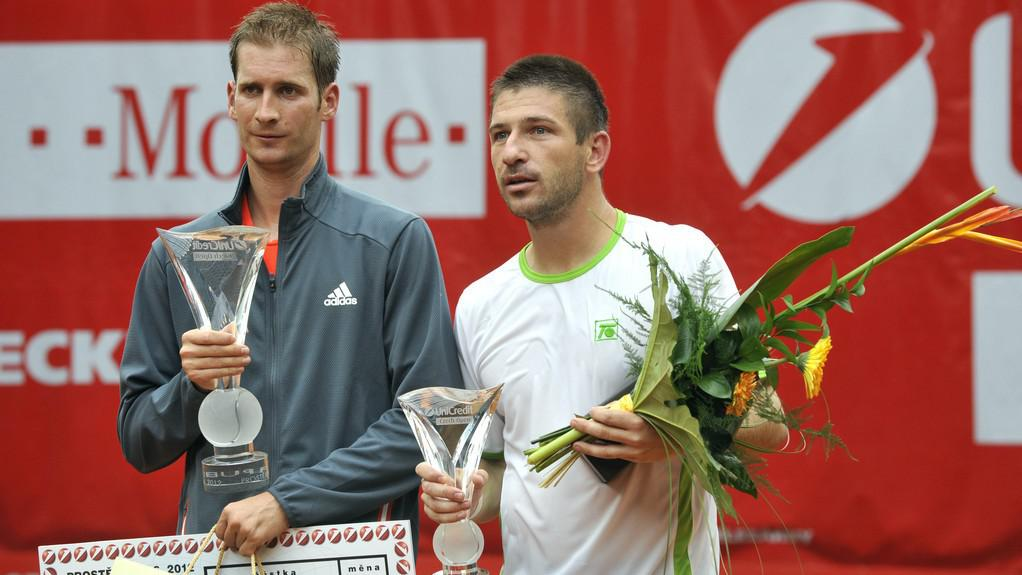 Florian Mayer a Jan Hájek