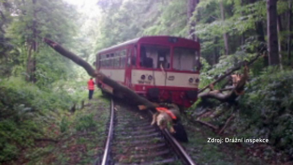 Nehoda vlaku u Bruntálu