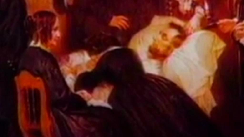 Lincoln na smrtelné posteli