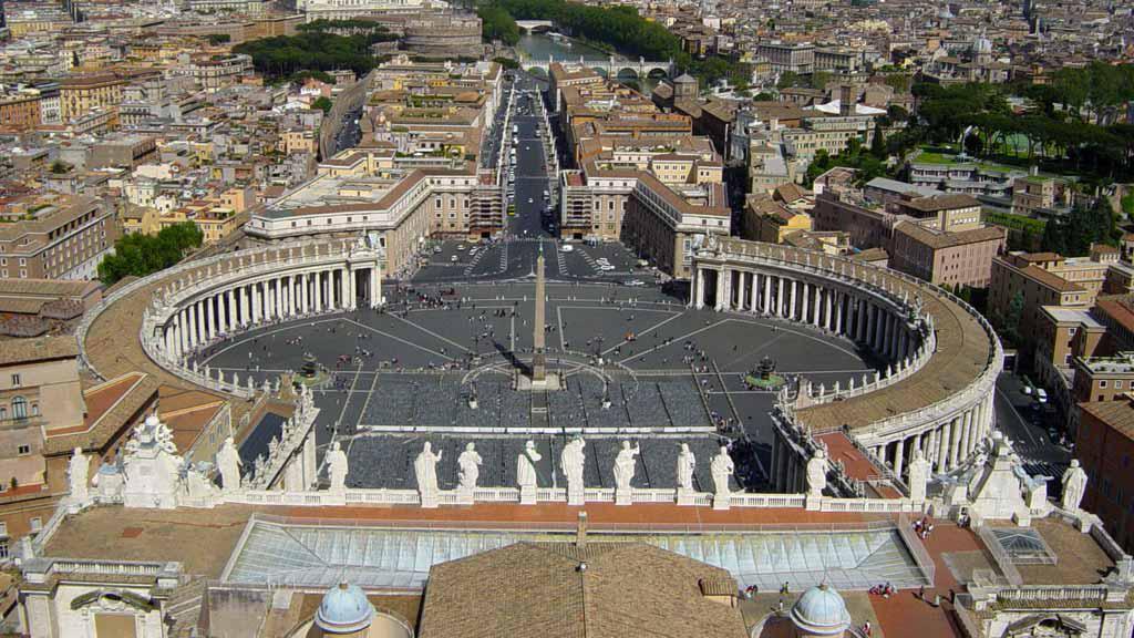 Vatikán - Svatopetrské náměstí