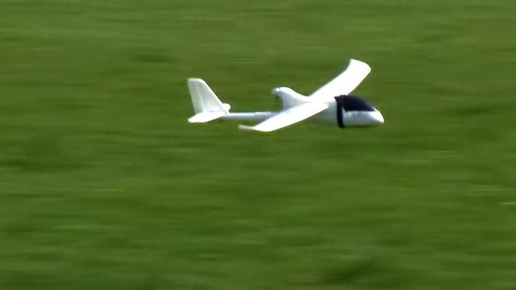 Monitorovací letadlo švýcarských ekologů