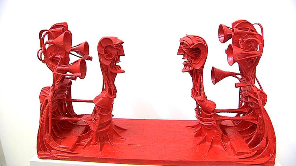 Z výstavy Karla Nepraše