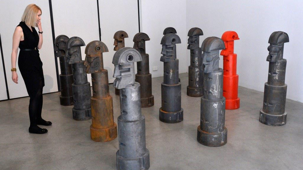 Výstava sochaře Karla Nepraše