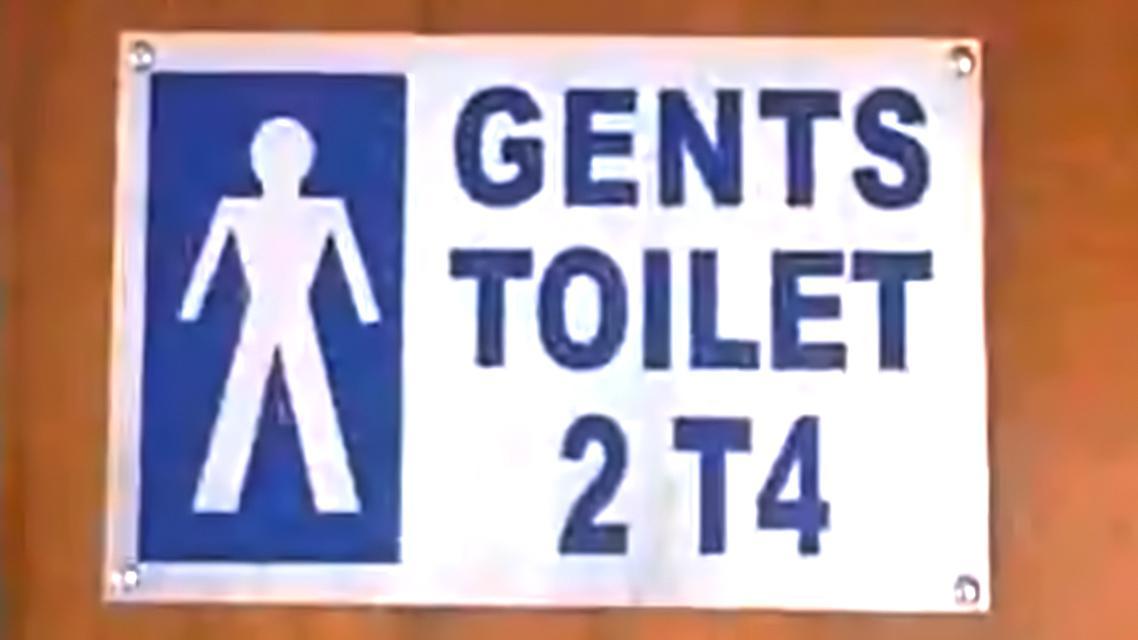 Luxusní záchody v indickém vládním sídle
