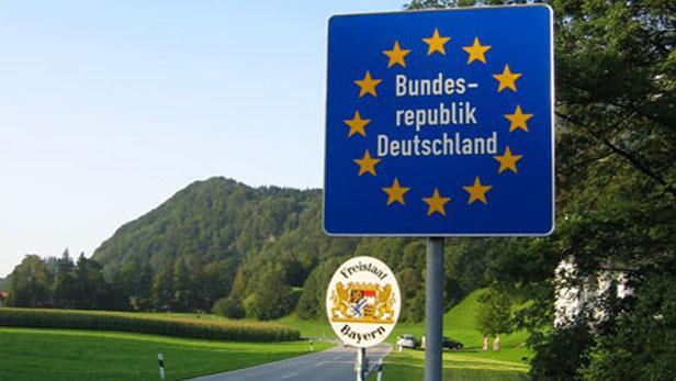 Značení vnitřních hranic schengenského prostoru
