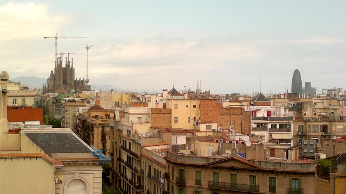 Sagrada Família z Pedrery