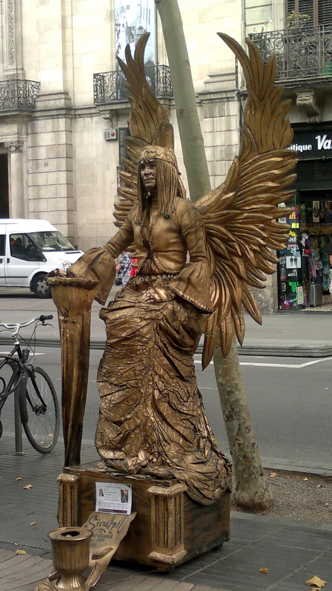 Člověk socha
