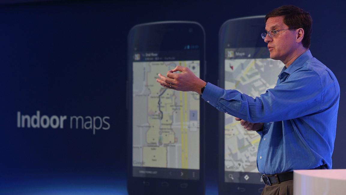 Šéf skupiny pro tvorbu map Brian McClendon