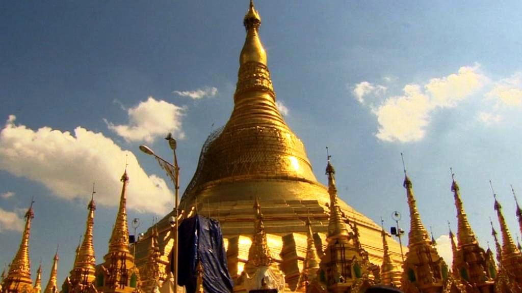 Chrám Švedagon v Rangúnu