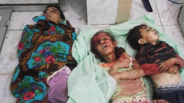 Oběti masakru v Hamá