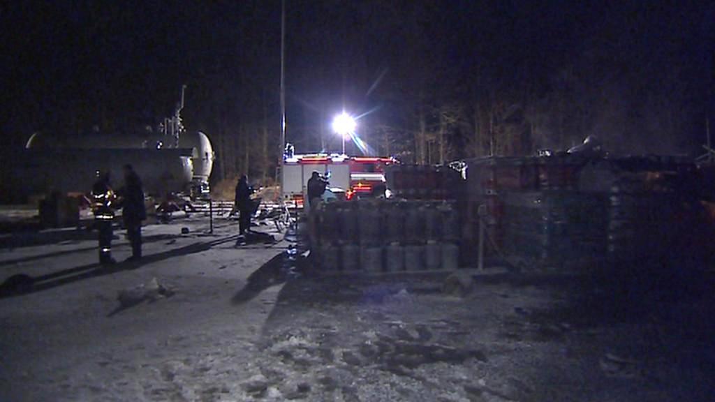Vyšetřování výbuchu plynu v Branicích