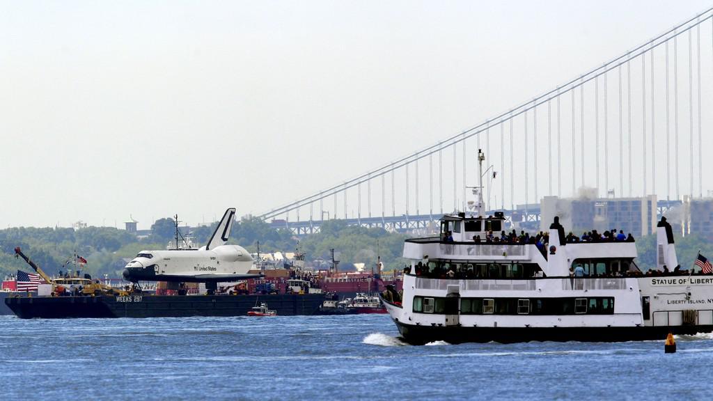 Enterprise na řece Hudson