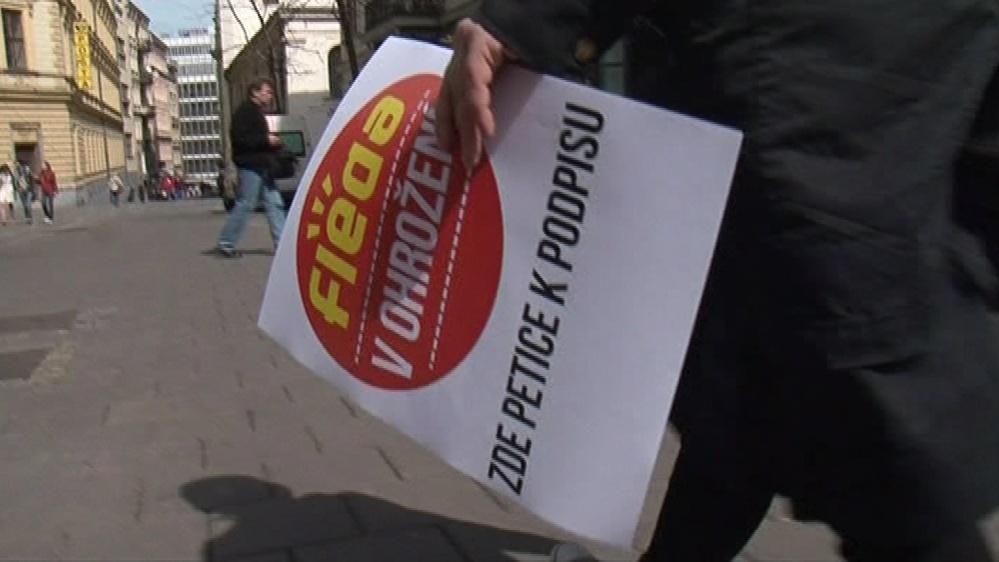 Příznivci Flédy sbírají podpisy pod petici