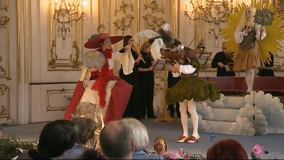 Zrození diamantu - barokní opera