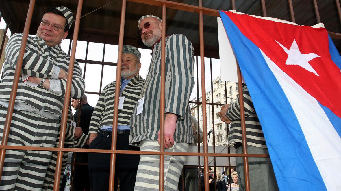 Akce na podporu kubánských disidentů