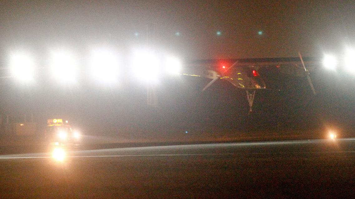 Solar Impulse přistává v Rabatu