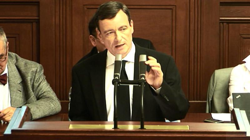 David Rath mluví v Poslanecké sněmovně