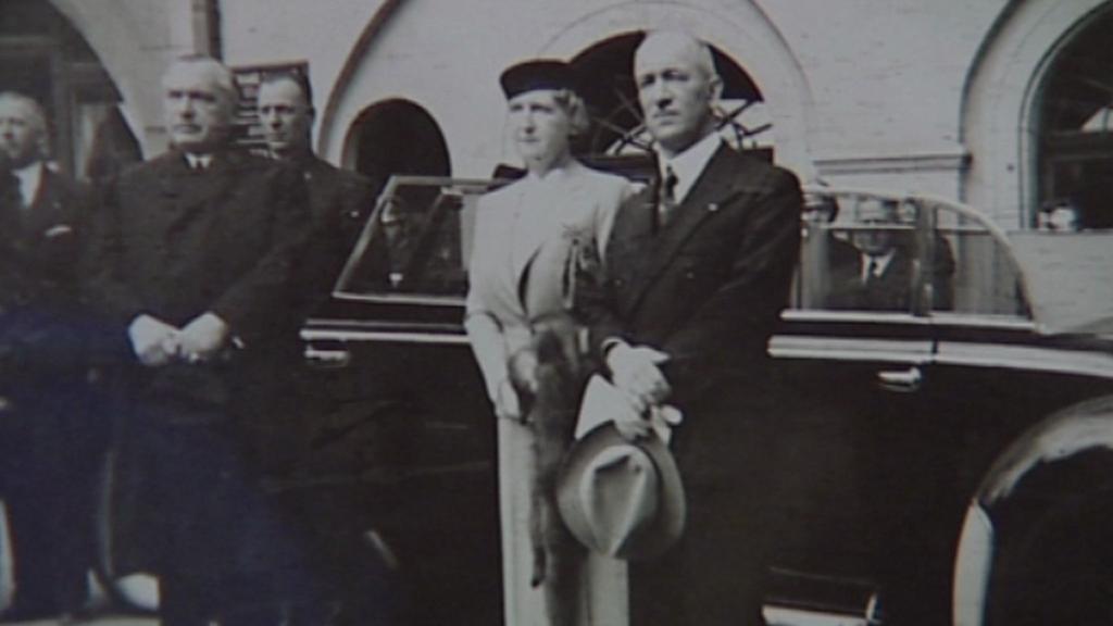 Snímek prezidenta Beneše ze Seidlova archivu