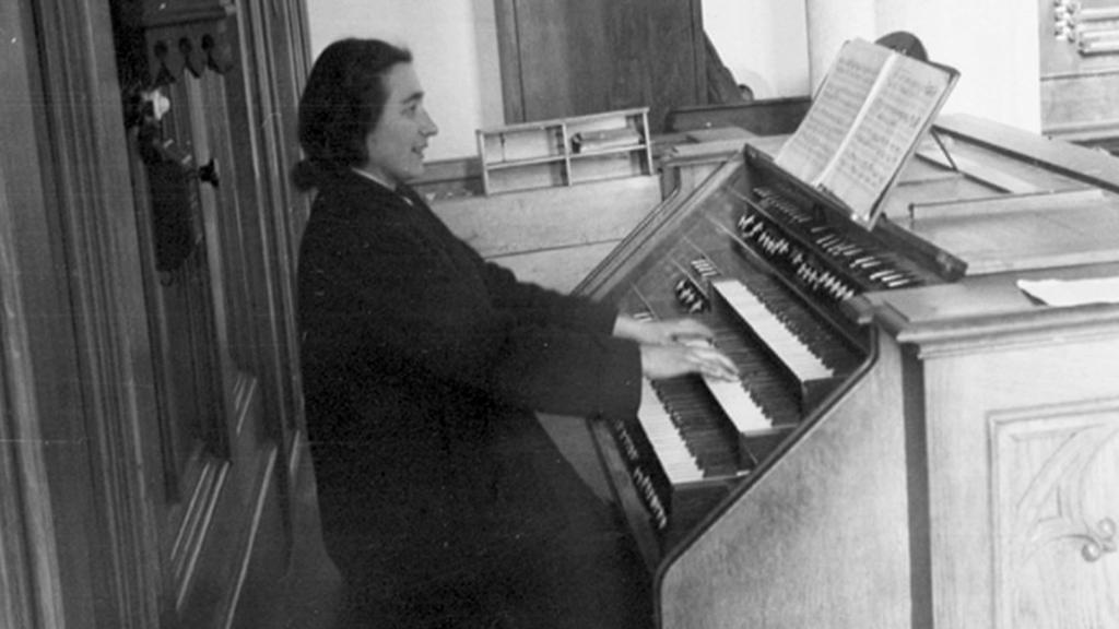 Marie Staňková na Seidlově fotografii