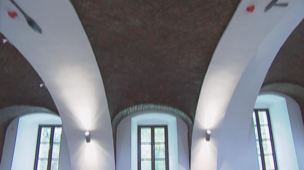 Interiér blanenské sýpky