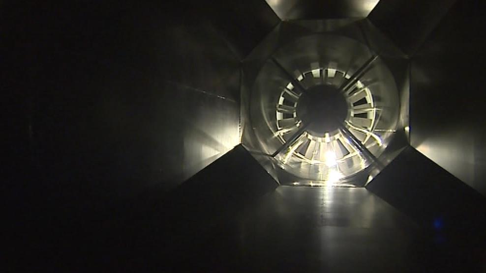 Srdcem celého tunelu je výkonný ventilátor