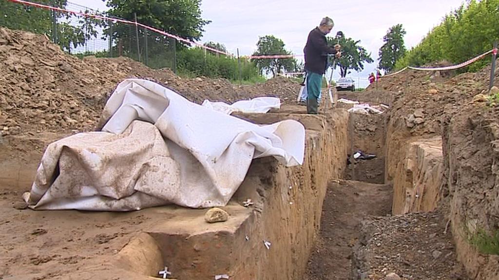 Archeologický výzkum ve Svijanech