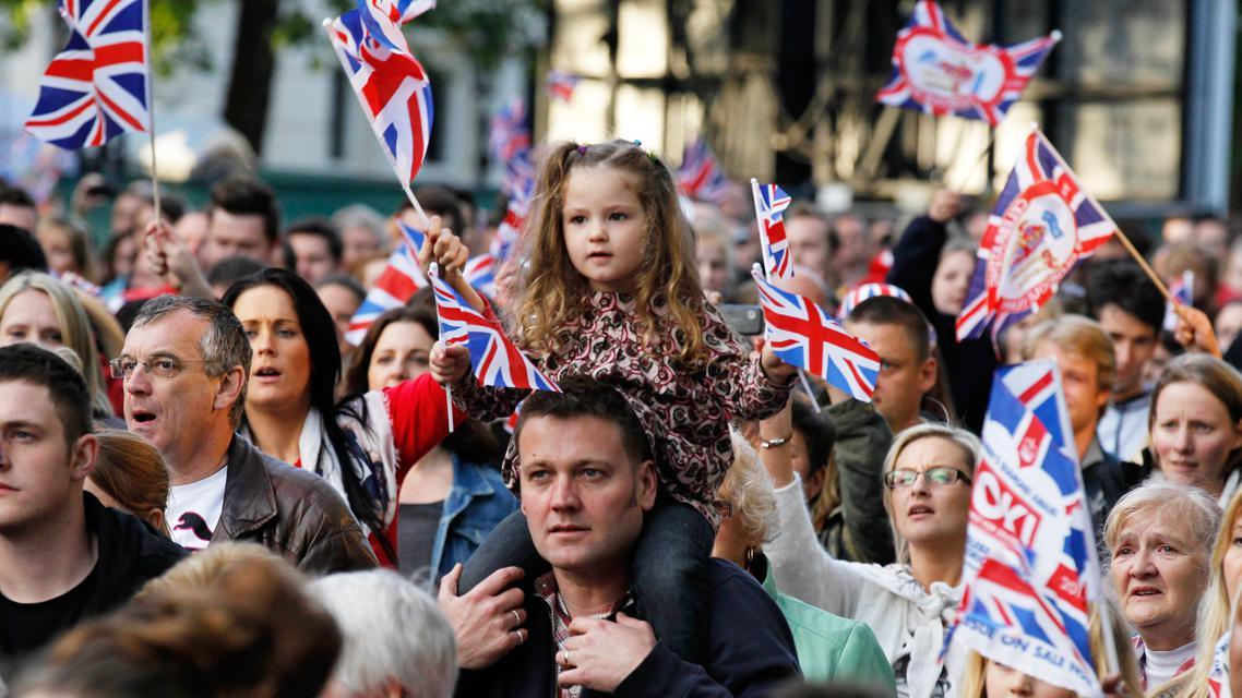 Britové sledují koncert na počest Alžběty II.