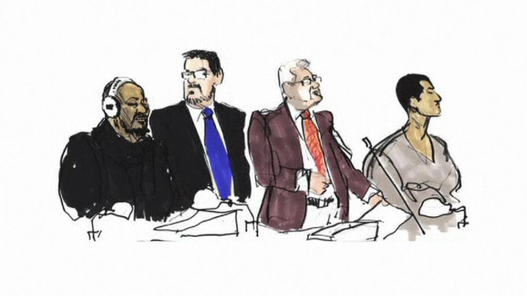 Muži, kteří plánovali  útok na redakci deníku Jyllands-Posten