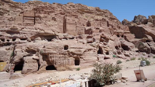 Nabatejské hrobky v Petře