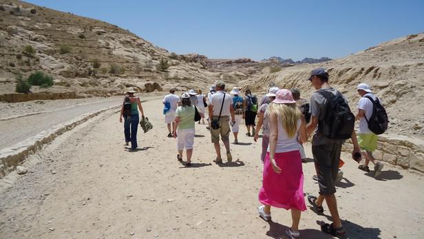 Dychtiví turisté míří do Petry