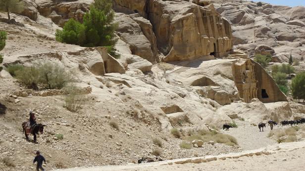 Jeden z chrámů v komplexu Petry