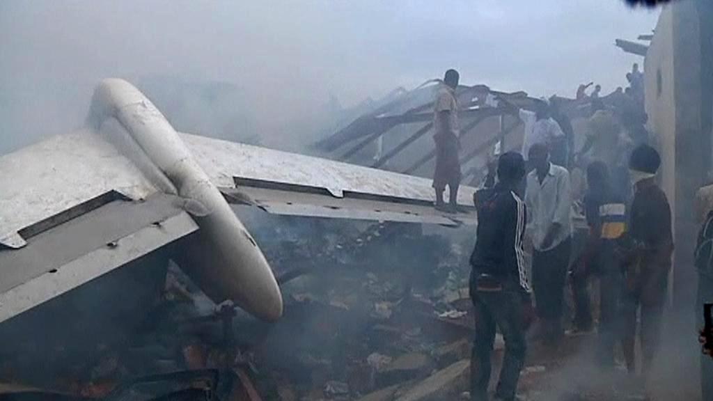 Letecká havárie v Nigérii