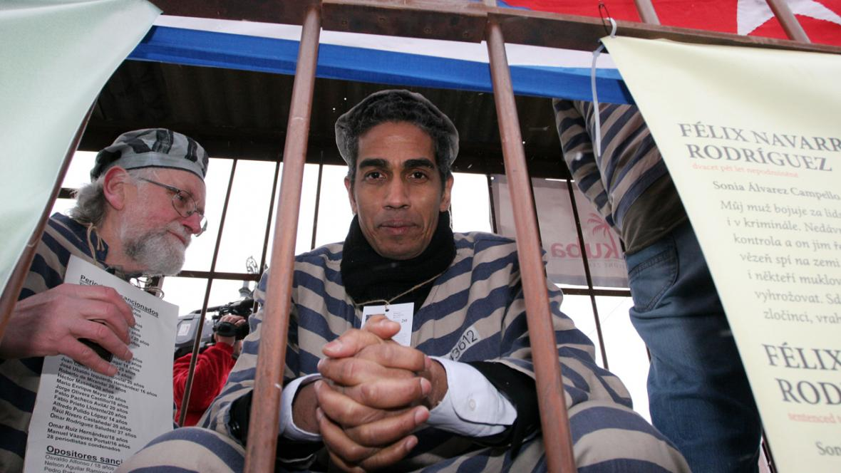 Člověk v tísni - Upozornění na věznění kubánských disidentů