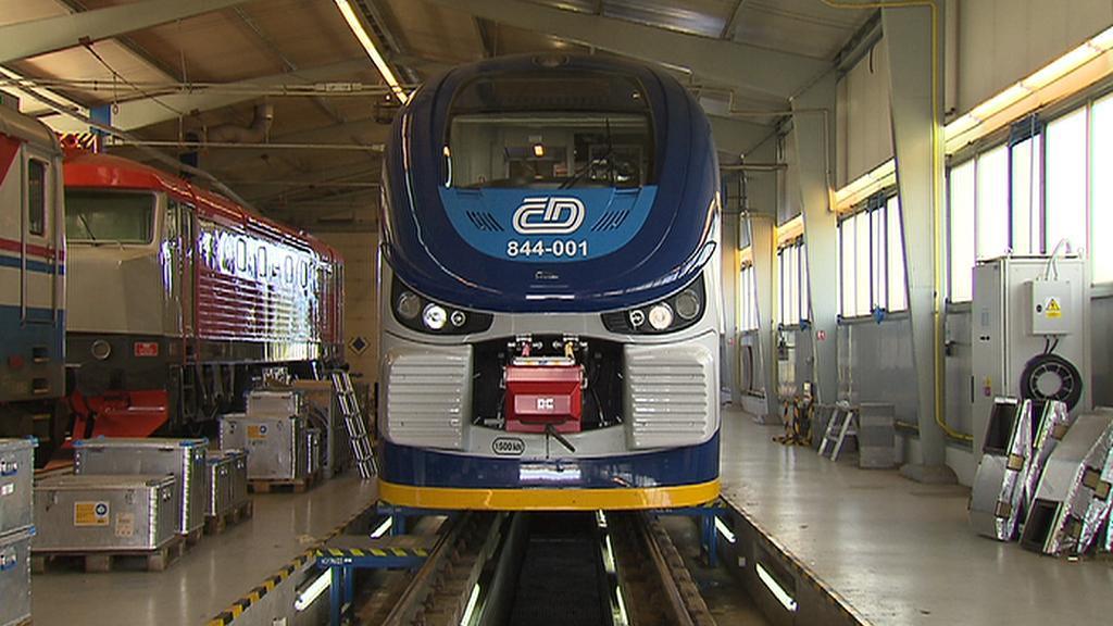 Nové vlaky Českých drah