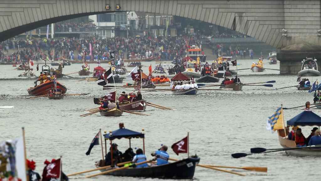 Královská plavba na Temži