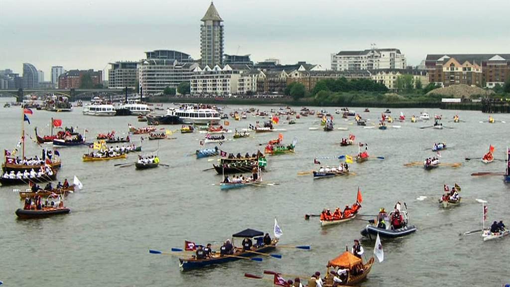 Královská plavba po Temži
