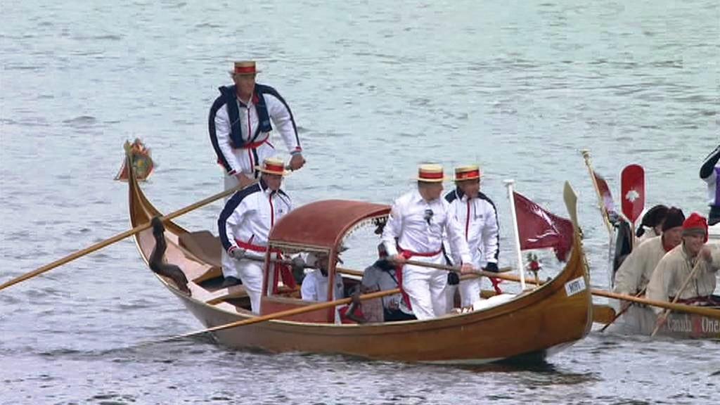 Gondola na diamantové plavbě