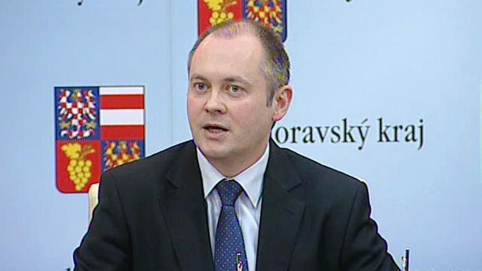 Šéf Asociace krajů ČR Michal Hašek (ČSSD)