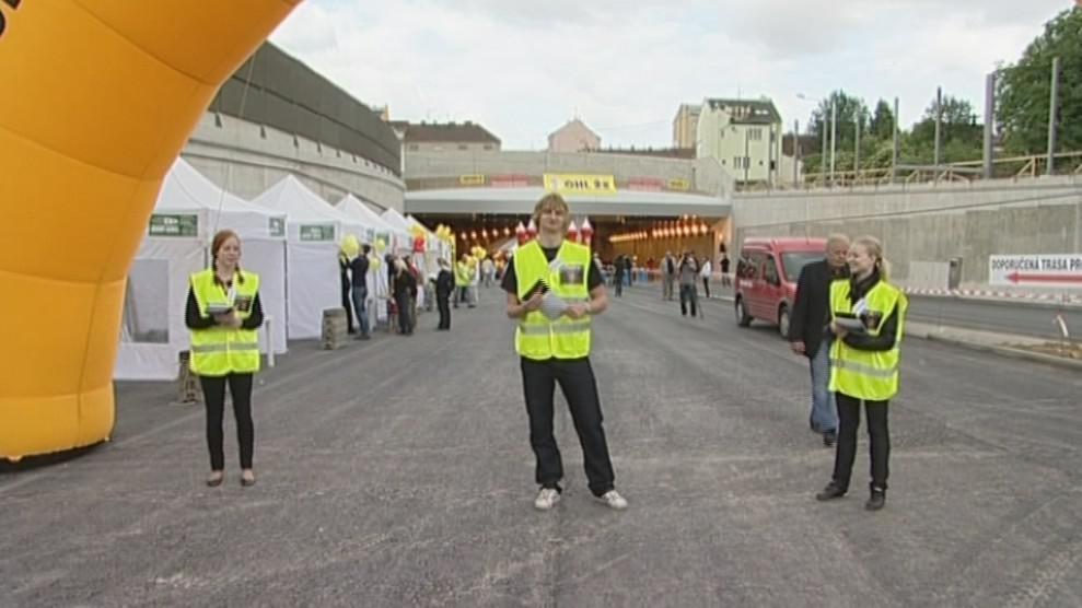 Prohlídka Dobrovského tunelů