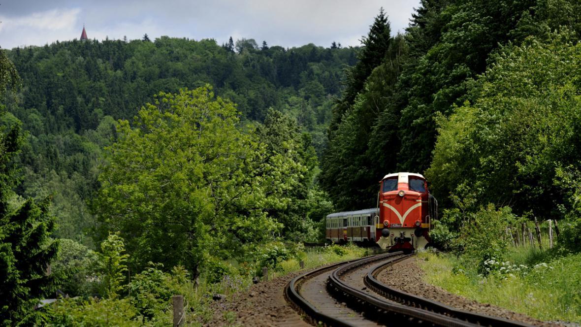 Ozubnicová trať Tanvald - Kořenov