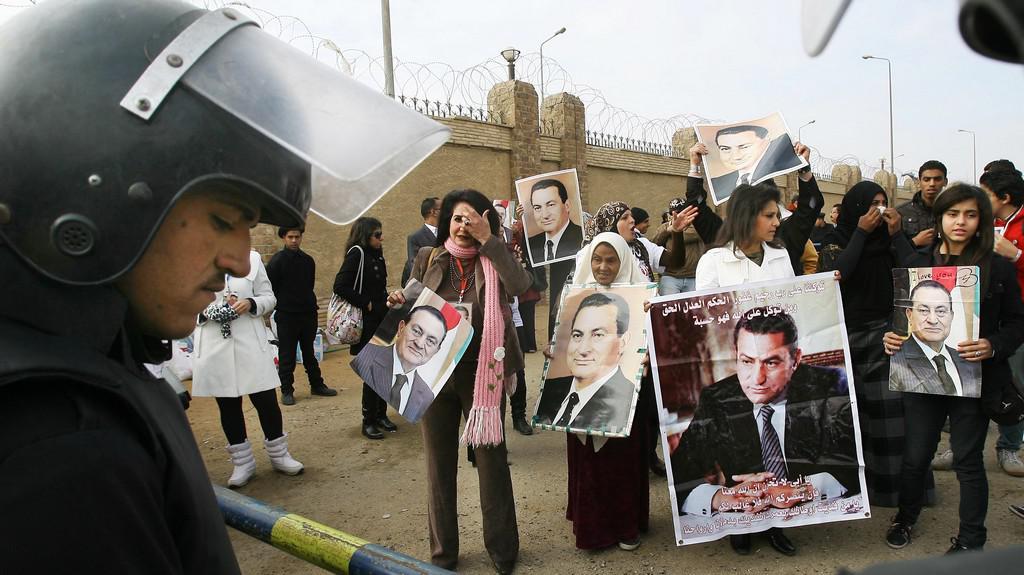 Soud s Mubarakem