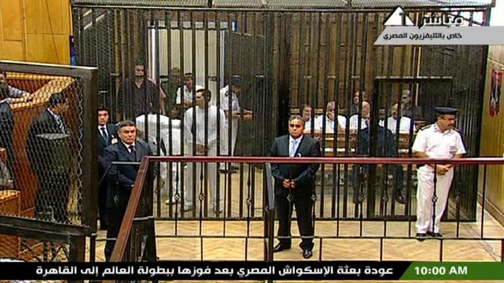 Zahájení procesu s Husním Mubarakem
