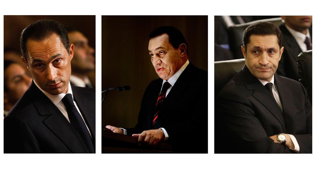 Gamál, Husní a Alá Mubarakovi